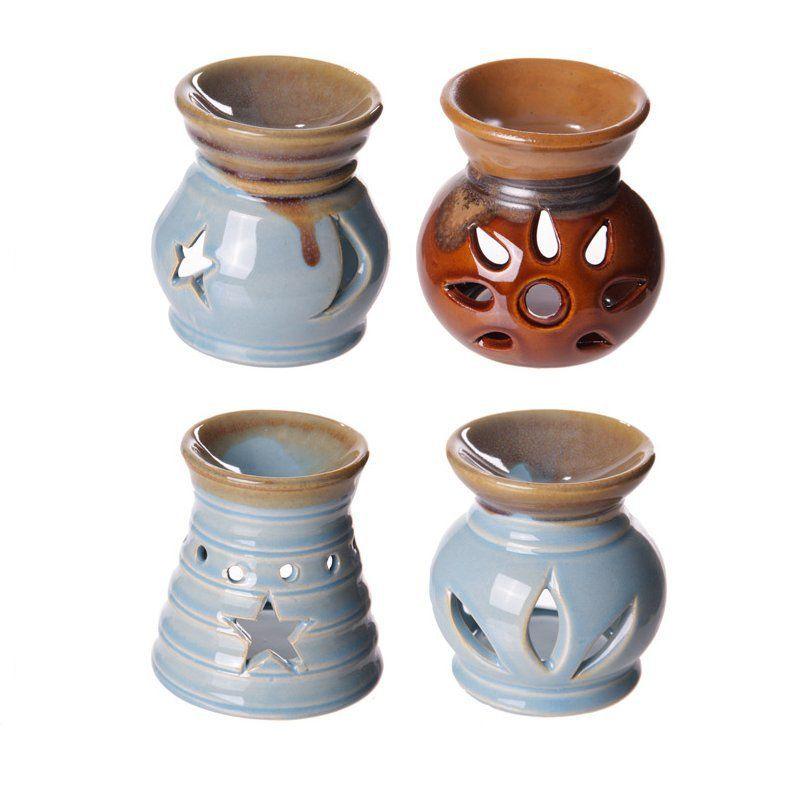 Small+Cut+Out+Designs+Ceramic+Dipped+Glaze+Oil+Burner
