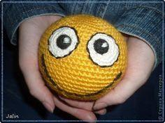 Master class from Marina Bondarenko (holomi). How to crochet smiley. Collected by Jalin  http://stranamasterov.ru/node/260344