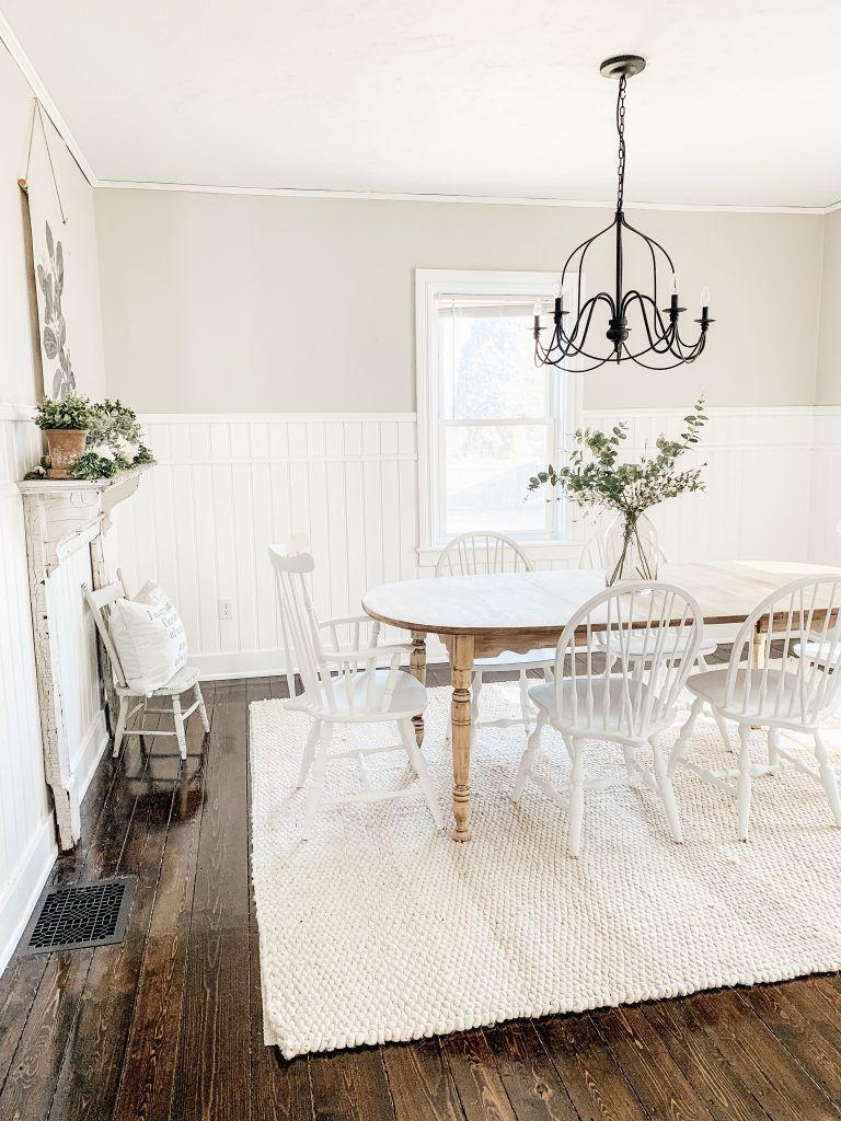 The Best Farmhouse Paint Colors Dining room paint colors