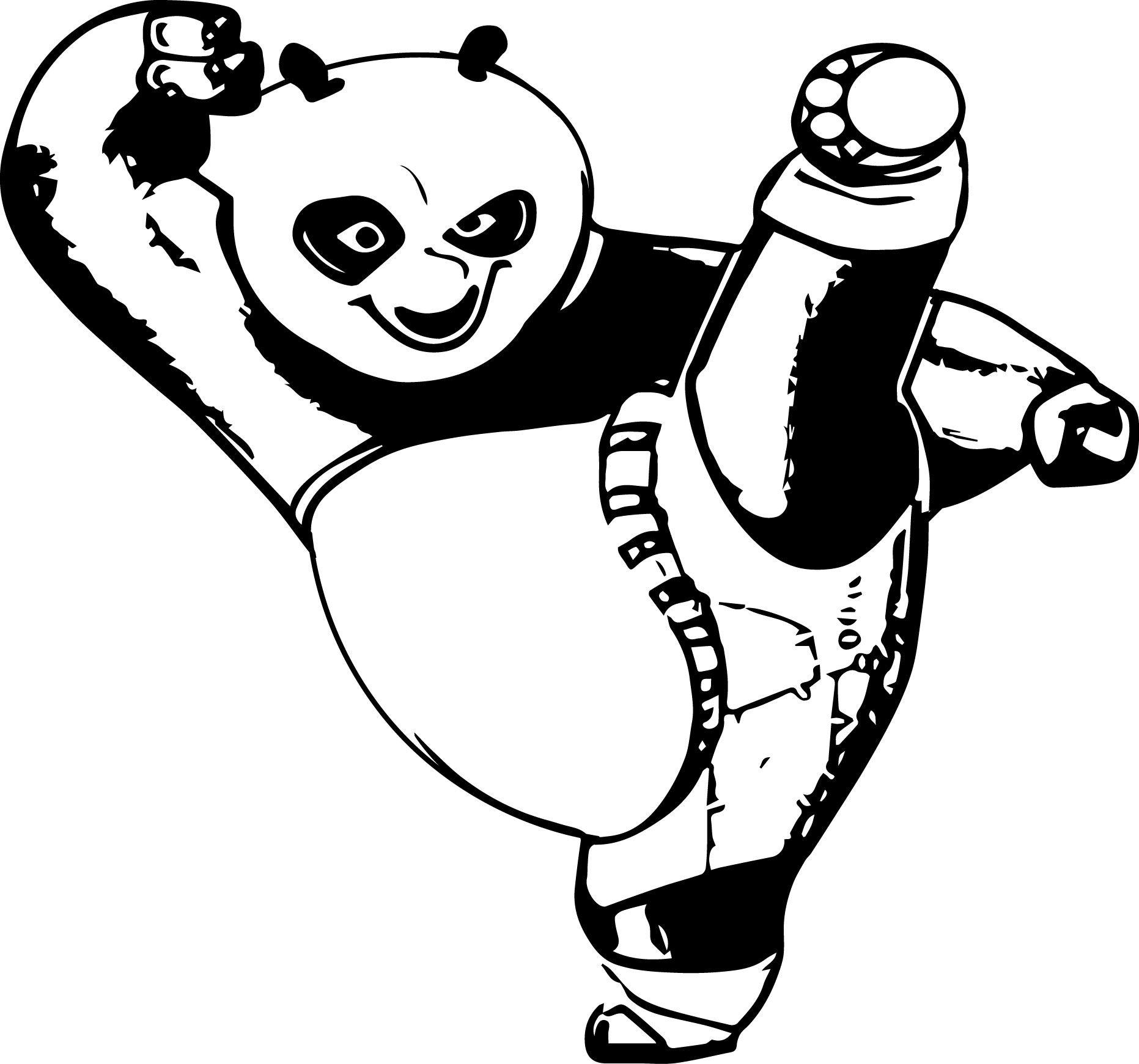 Free coloring pages kung fu panda - Kung Fu Panda Coloring Page 68