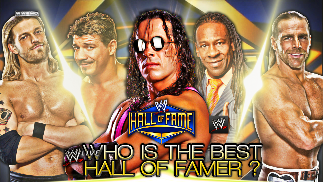 Who Is The Best Wwe Hall Of Famer Eddie Guerrero Hall Of Famer Wwe Divas