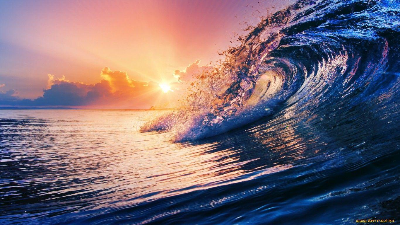 Обои волны. Пейзажи foto 14
