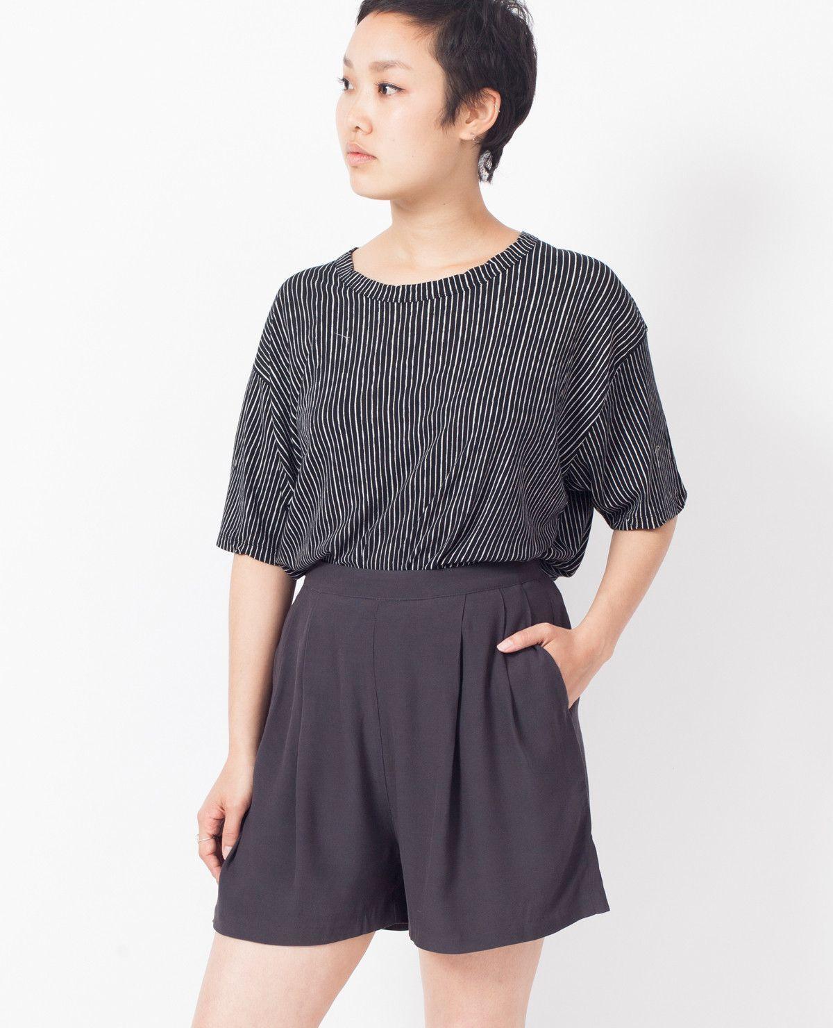 AMERICAN VINTAGE Celi Shorts / Carbon