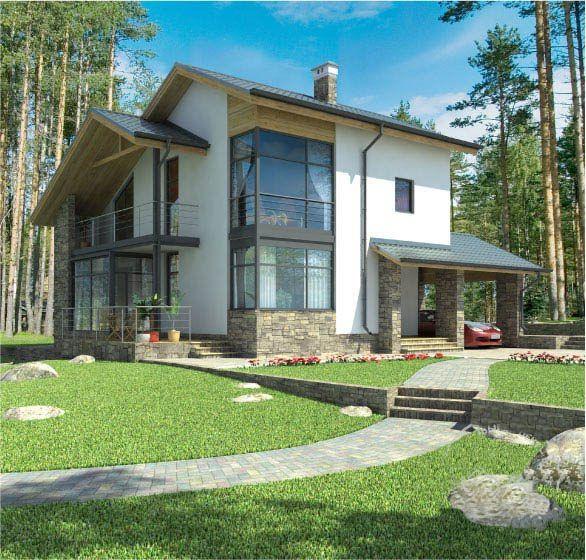 Estilos de casas prefabricadas de dos plantas buscar con for Buscar casas prefabricadas