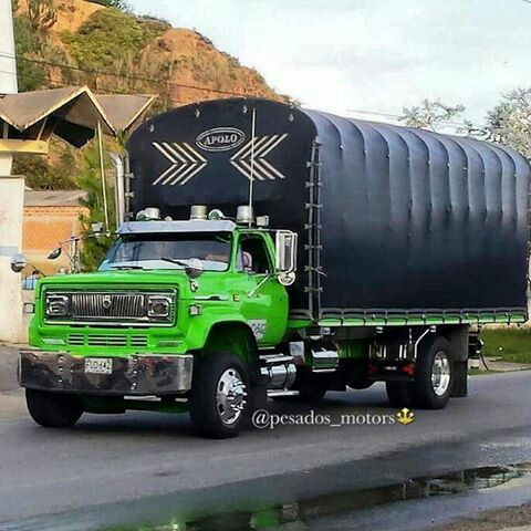 Pin By Cristian On Camiones Colombianos Big Trucks Chevrolet Trucks Old Trucks