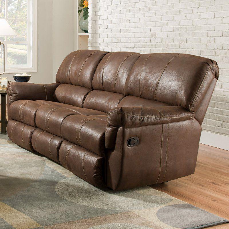 Simmons Upholstery Renegade Beautyrest Sofa - Mocha - 50364PBR-53 RENEGADE MOCHA