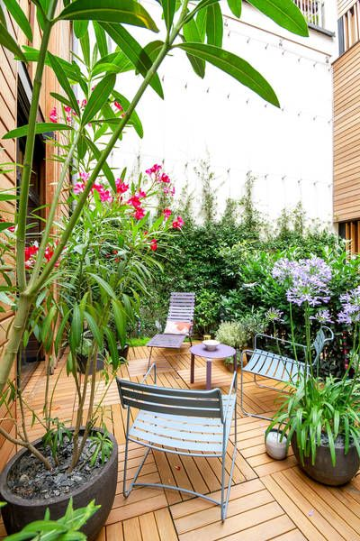 réalisations : Rez de jardin Paris 8ème, Paris 8, Terrasses des ...