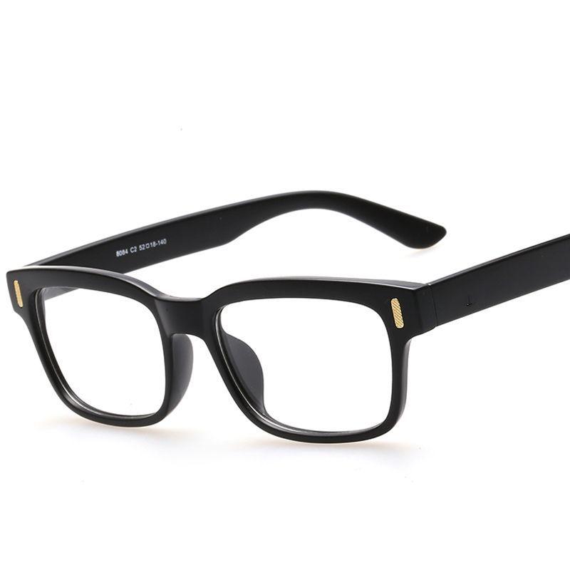 b1700f91701 Retro Fashion Eyeglasses Optical Frames Clear Lens Fake Glasses Leopard Square  Eyewear Spectacle Frames For Women Men  Fakefashioneyeglasses