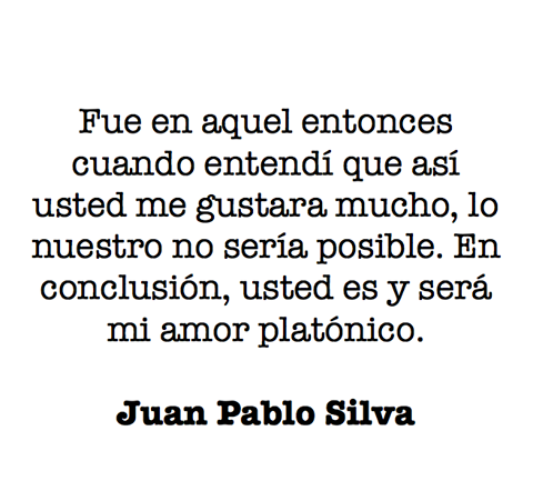 Mi Amor Platonico Frases Pinterest Quotes Love And Platonic Love