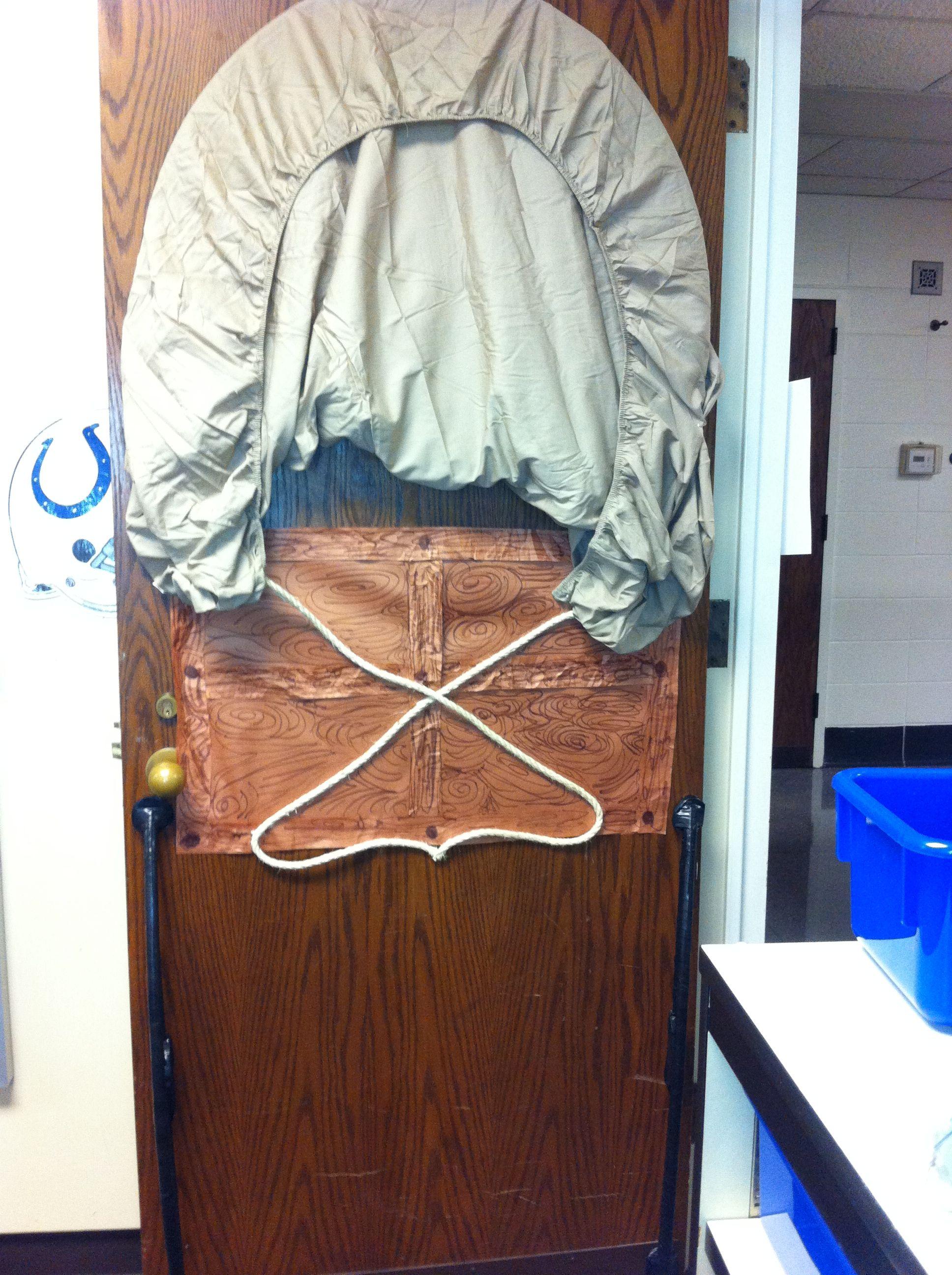 Covered Wagon classroom door & Covered Wagon classroom door | 4th grade | Pinterest | Covered ... pezcame.com