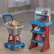 American plastic toys my very own self checkout set shopping american plastic toys my very own self checkout set teraionfo