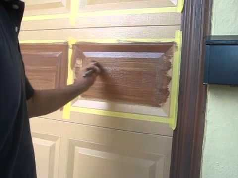 How To Paint A Vinyl Garage Door Vinyl Garage Doors Home Exterior Makeover Garage Doors