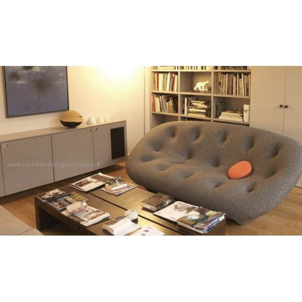 Ligne Roset stand with the Bouroullec\'s Ploum http://decdesignecasa ...