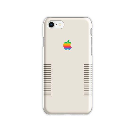 cheap for discount 9a733 9b764 Handmade Retro Apple Iphone 8 Case, Handmade Retro Apple Logo ...