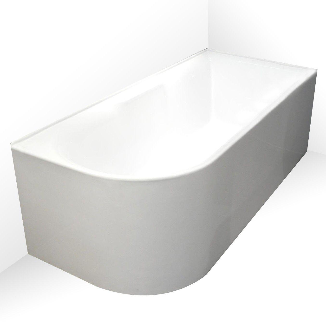 Aqua Freestanding Corner Bath LHS 1700mm | Bathroom | Pinterest ...