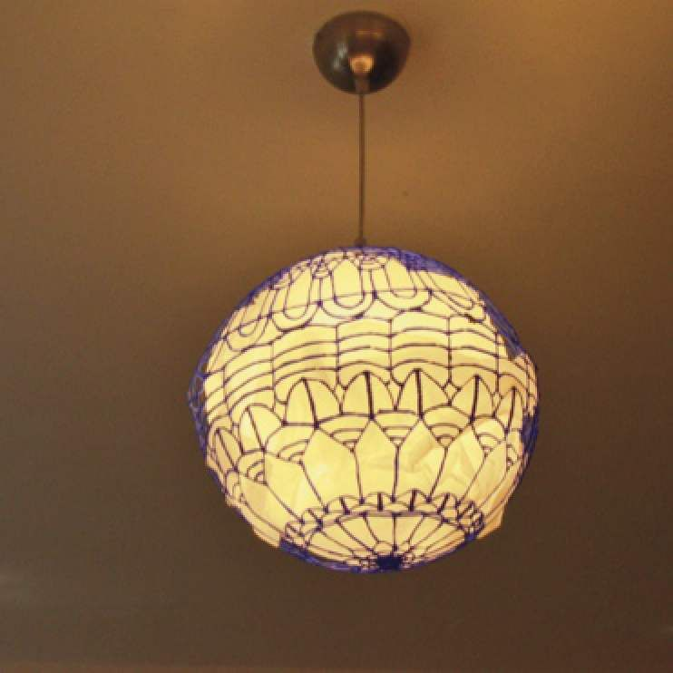 Pendant Lamp Shade 3d Pen Creation Library Pendant Lamp Shade Antique Lamp Shades Old Lamp Shades
