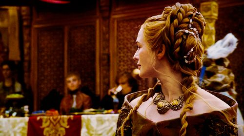 Cersei Lannister Purple Wedding Hair Game Of Thrones Season 4