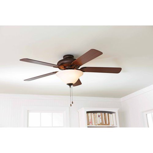 Better Homes And Gardens 52 Ceiling Fan With Light Kit Bronze