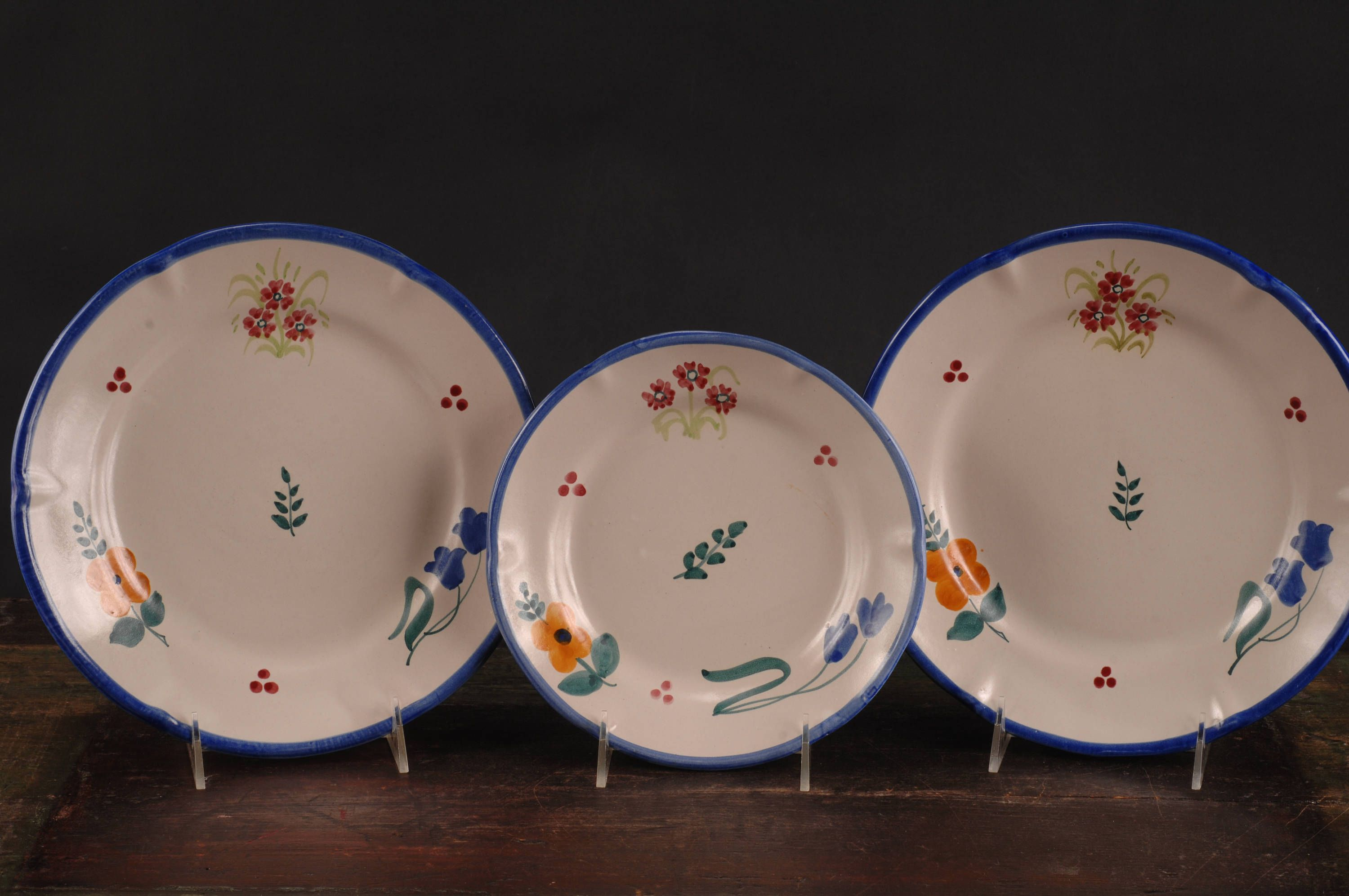 Gumps Italian Floral Dinner Plates and Salad/Dessert Plate by dinaandpartners on Etsy & Gumps Italian Floral Dinner Plates and Salad/Dessert Plate by ...
