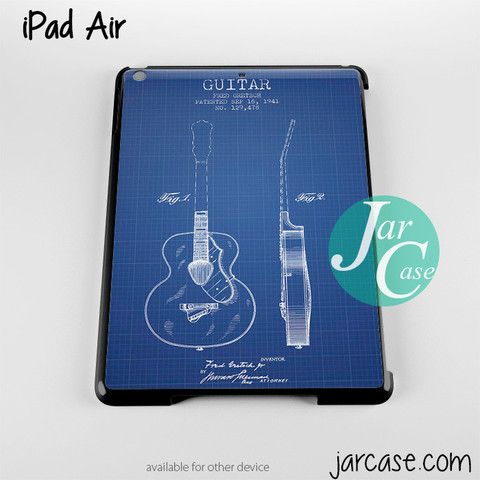 Gretsch guitar patent blueprint phone case for ipad 234 ipad air gretsch guitar patent blueprint phone case for ipad 234 ipad air malvernweather Images