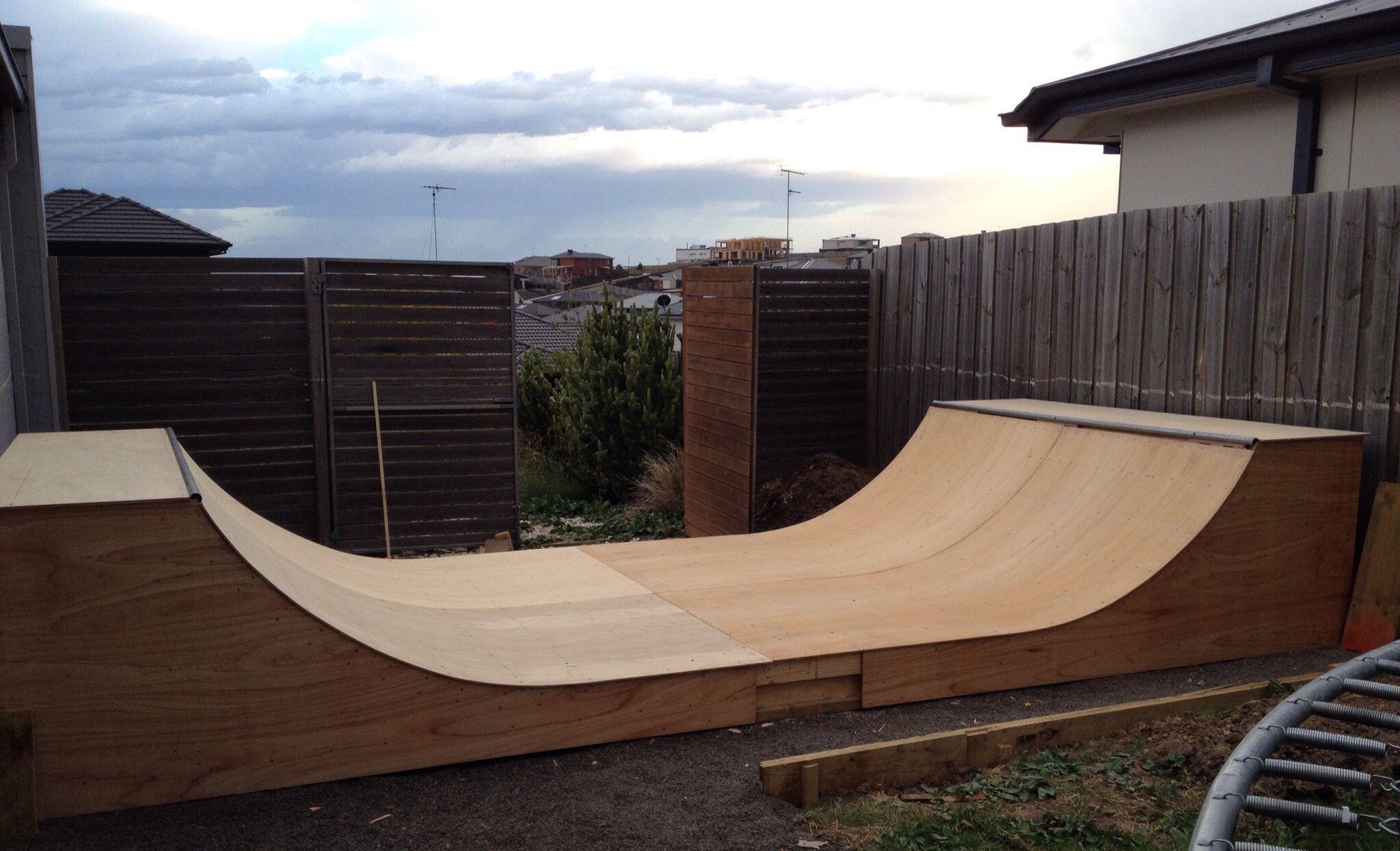 mini skate ramp for the garden skate stuff pinterest
