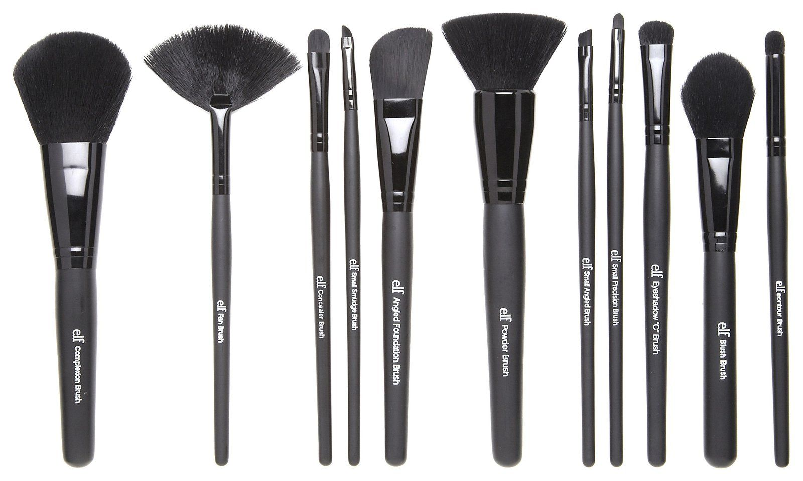 Review e.l.f. Studio Makeup Brushes and