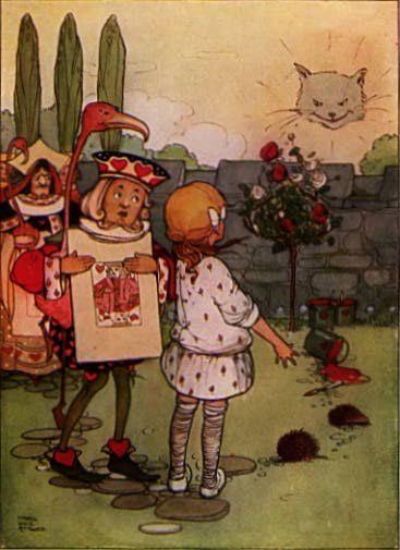 Alicia en el País de las Maravillas | Mabel Lucie Attwell (1910)