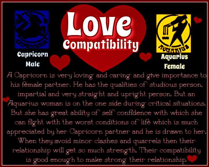 Love Compatibility Capricorn Male  Aquarius Female  I -4585