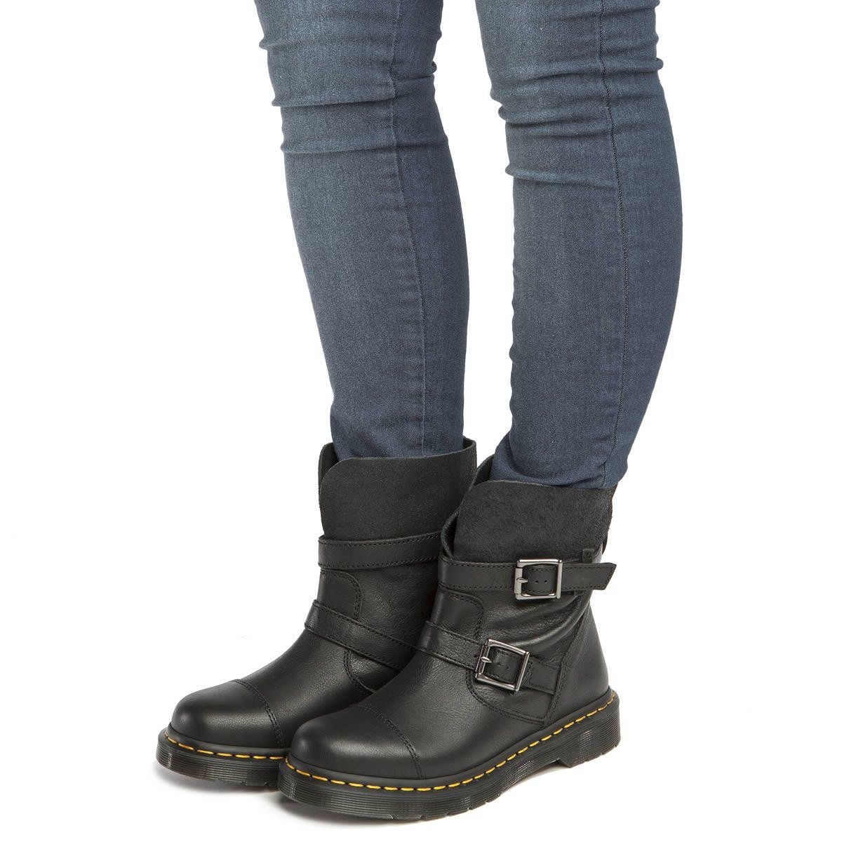 b3c22a18e2a womens dr martens black rapture kristy slouch boots | Ideas! | Boots ...