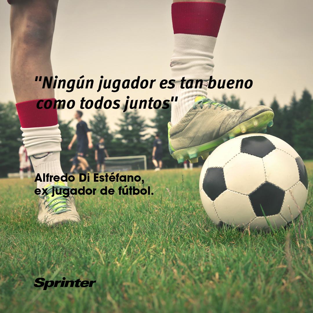Ésto sí que es un auténtico 'gol con palabras' #frasedelasemana #DiEstéfano
