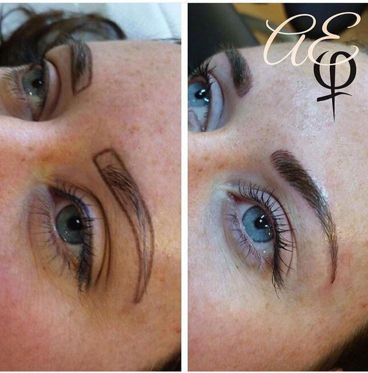Before and After Microblading by Artist: Alana Everett ...