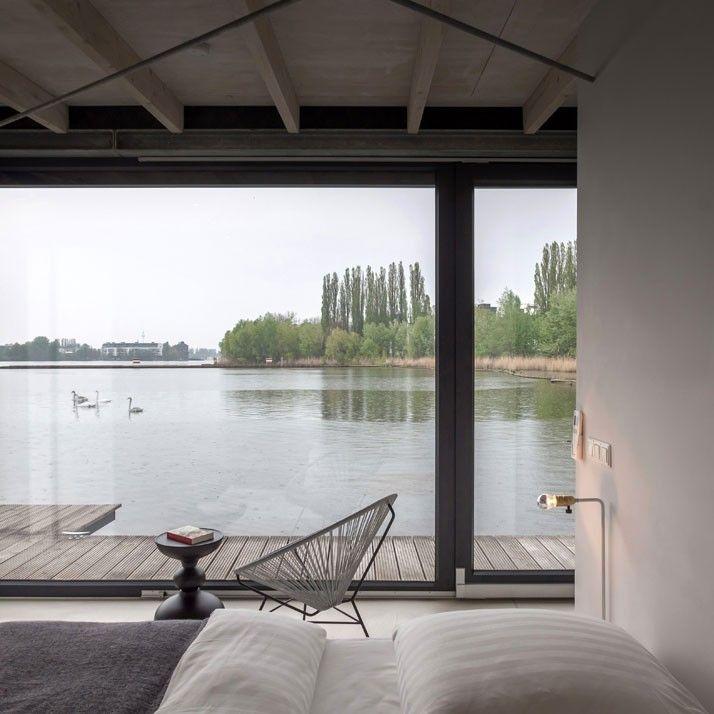 Berlin Modern Houseboat Bedroom | Remodelista