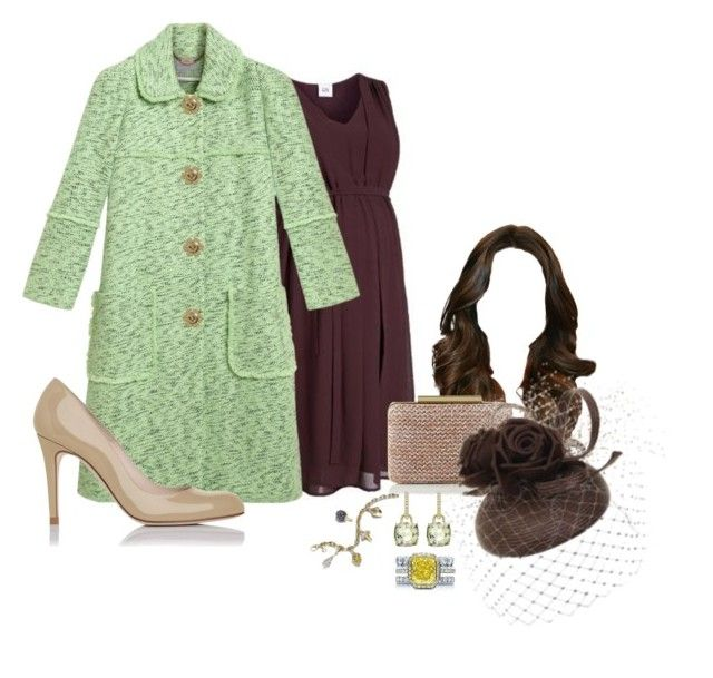 """Без названия #927"" by duchessq ❤ liked on Polyvore featuring Mama.licious, Mulberry, L.K.Bennett, Tiffany & Co. and J. Birnbach"