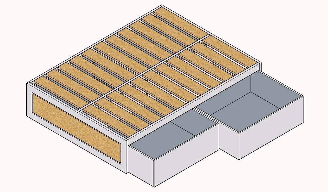 Trabajando en el diseño de una cama para un cliente
