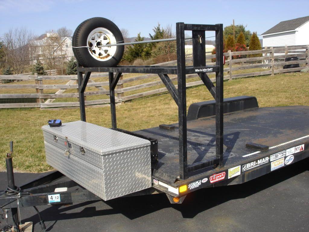 tire rack trailer tires trailer
