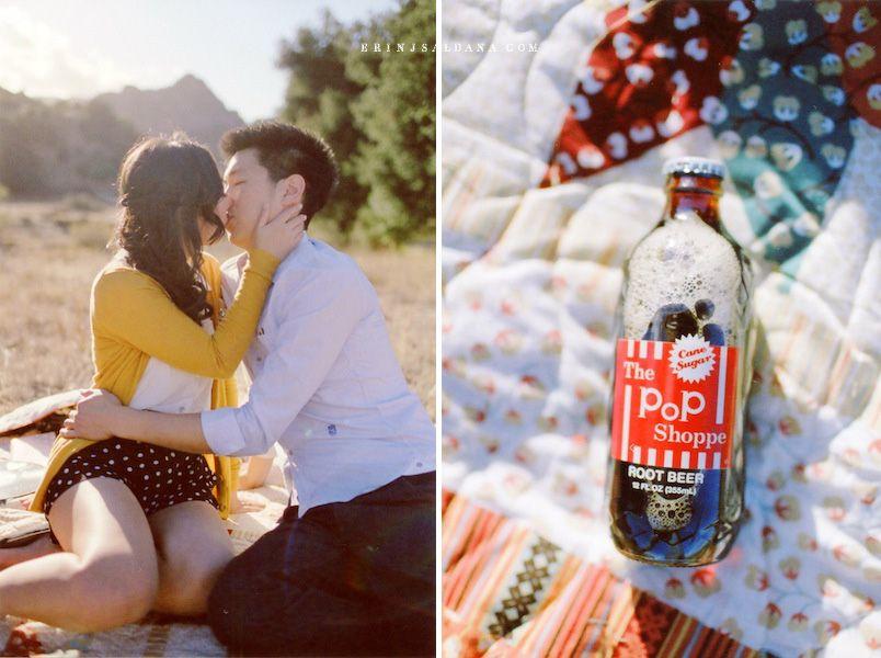 © Erin J Saldana Photography // erinjsaldana.com ~ malibu picnic engagement session