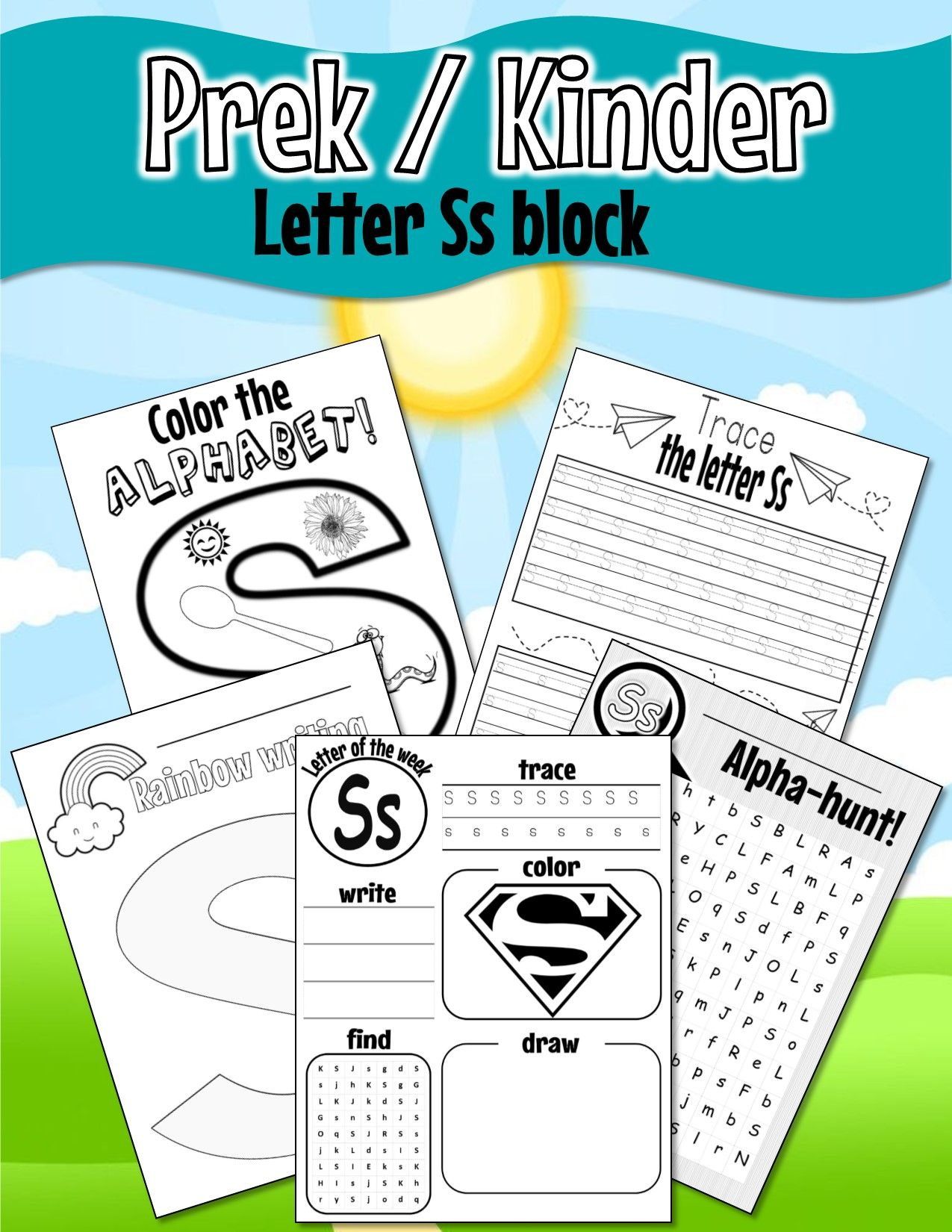 Pin On Prek Worksheets