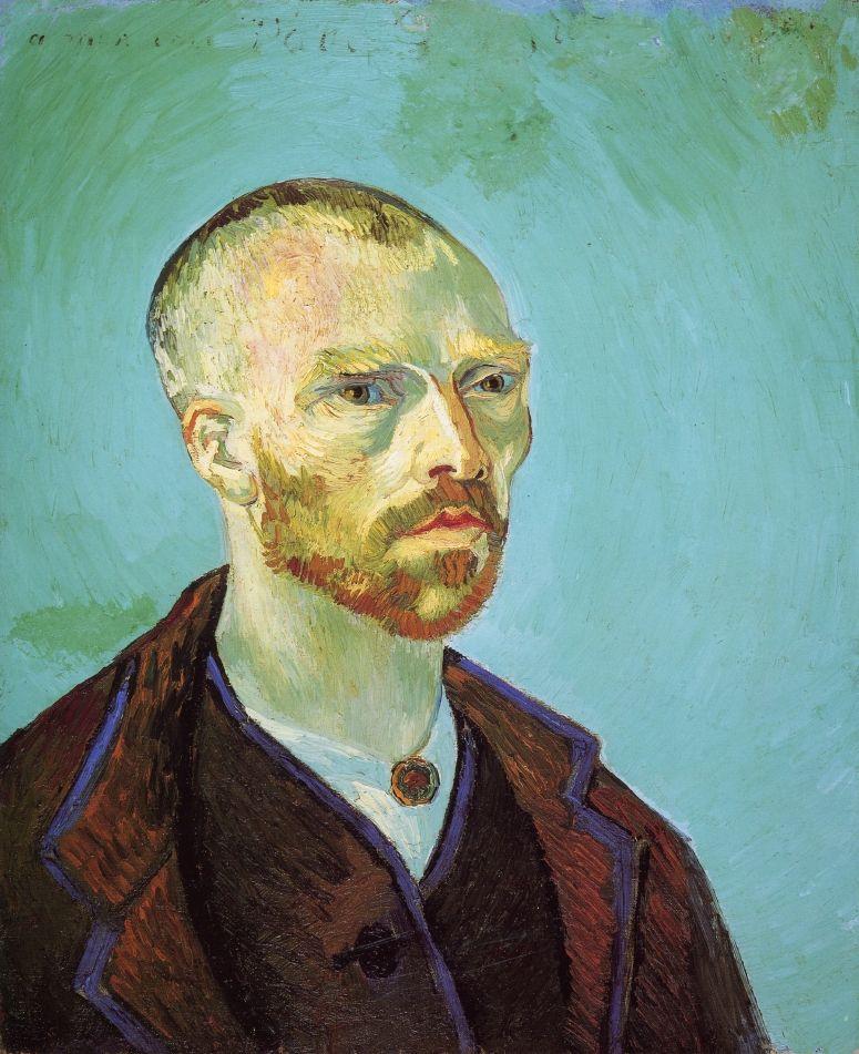 Self Portrait ,1888 , by van Gogh
