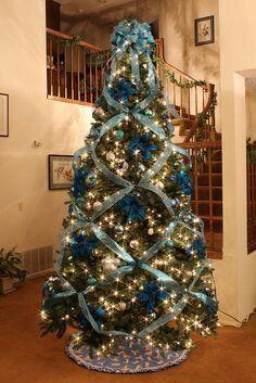 Árbol de navidad en azul!