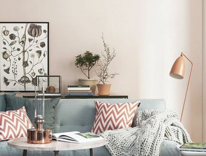 Comment incorporer la couleur grège, idées en photos   Déco salon, Couleur peinture salon et ...