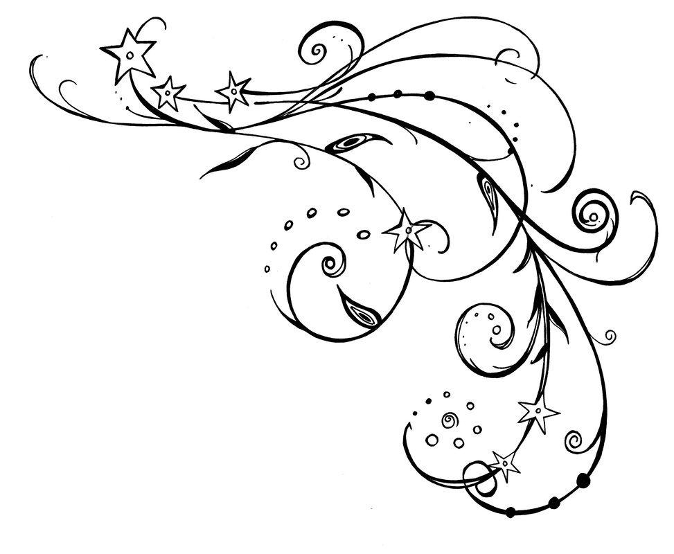 arabesque fleur