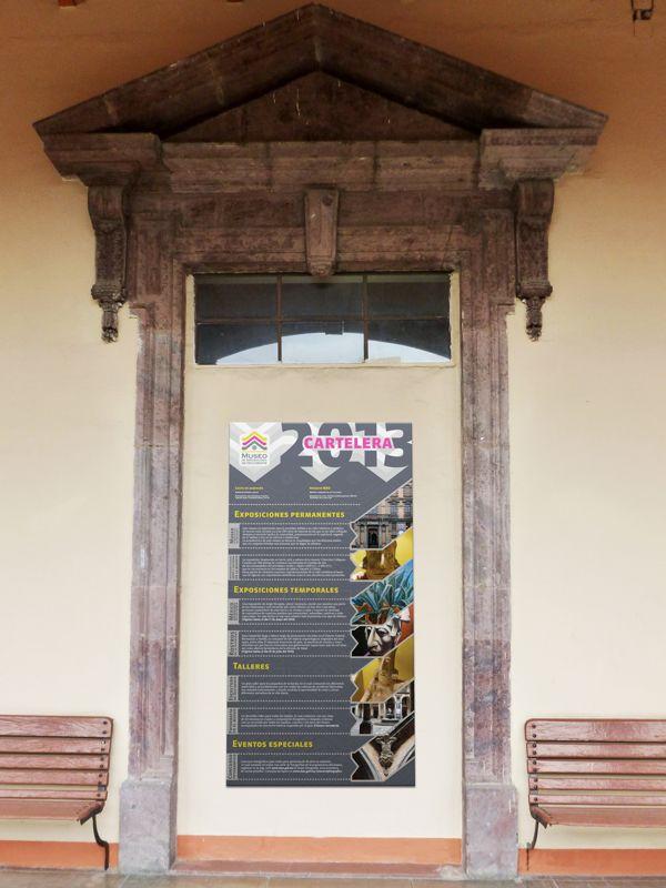 Museo de Arqueología de Occidente by Gise Llerenas, via Behance - CARTELERA