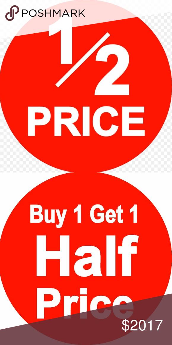 Bogo Free Sale Red Dot Only Red Dots Bogo Dots
