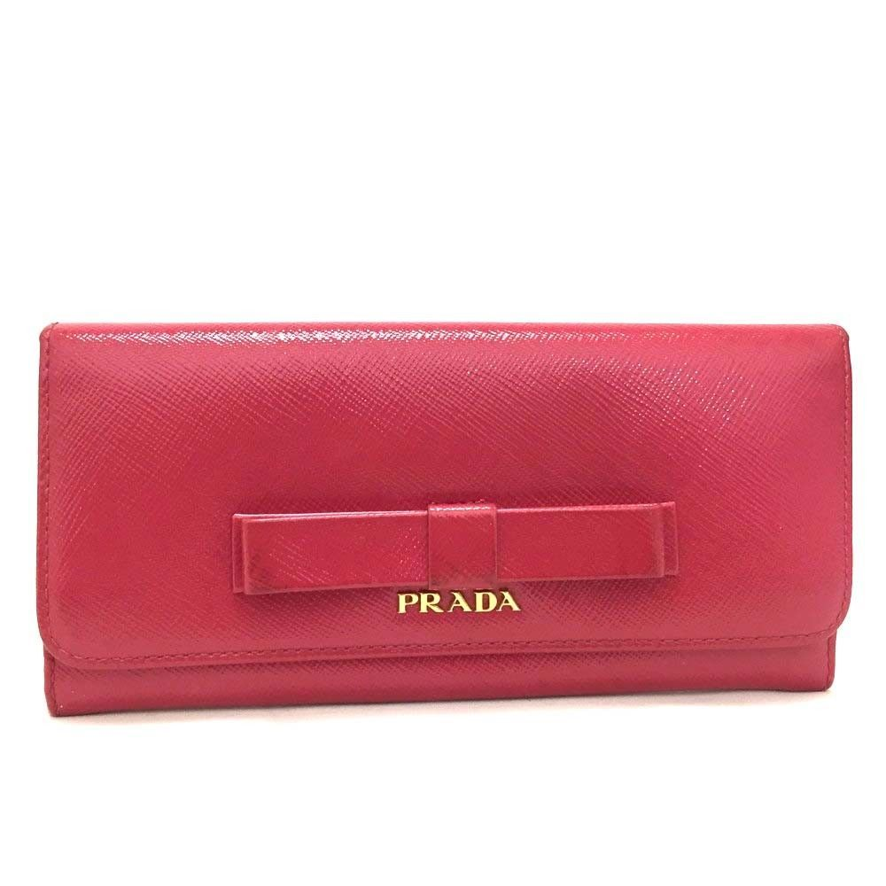 692f16ab54b6 100% Authentic PRADA Saffiano Ribbon Leather Long Bifold Wallet/d28  #fashion #clothing #shoes #accessories #womensaccessories #wallets (ebay  link)