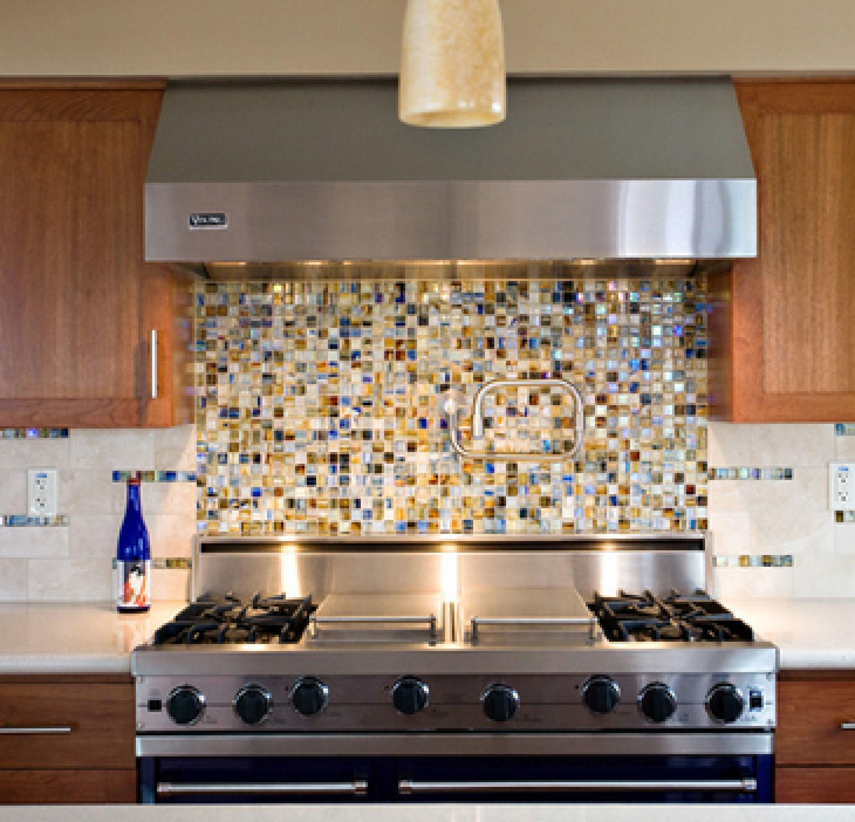 Distinctive How To Install A Glass Tile Kitchen Backsplash ...