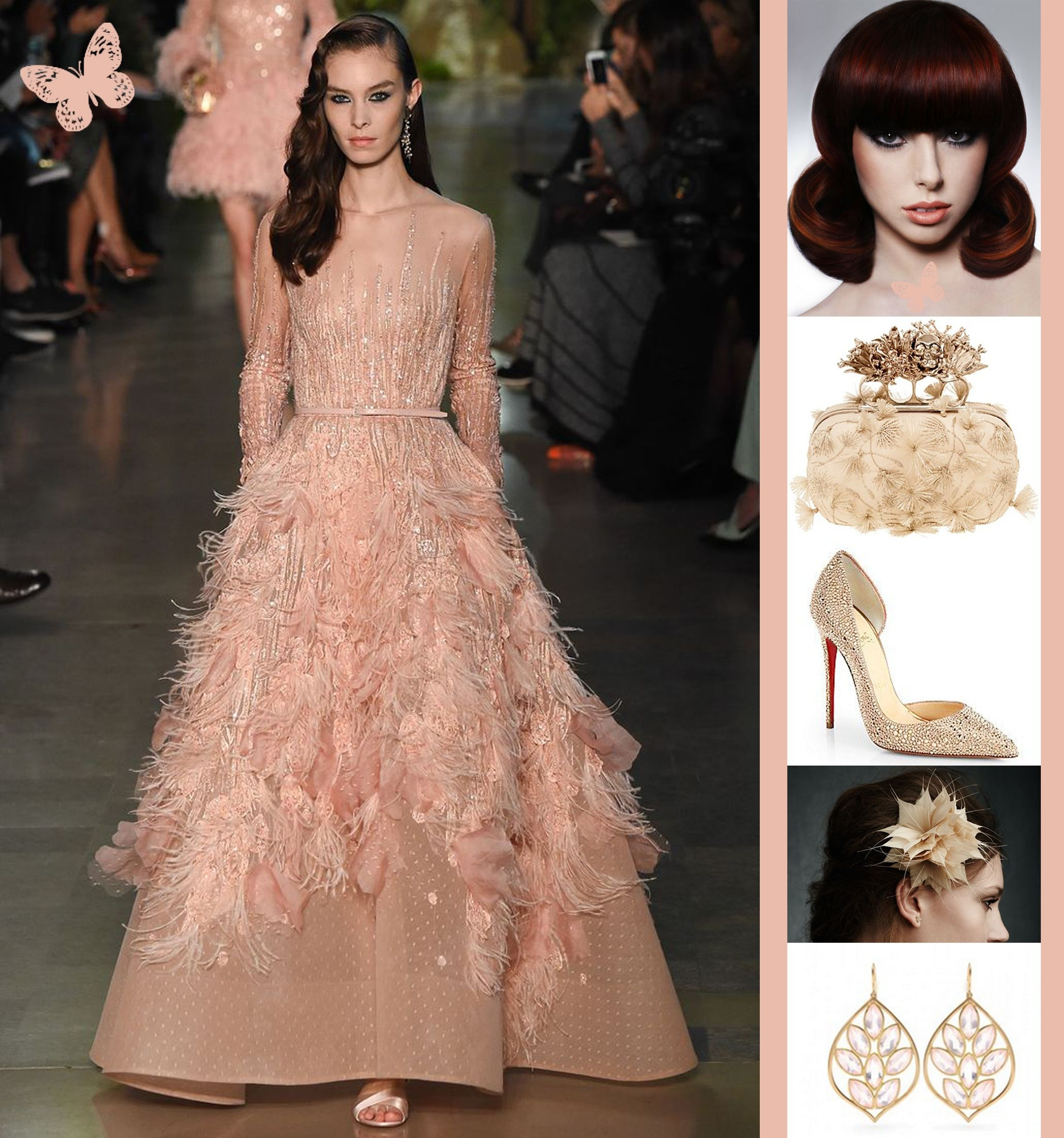 Pink feathers fashion collections by edina pinterest pink feathers