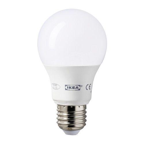 ikea ledare ampoule led e27 la source lumineuse led consomme pr s de 85 d lectricit en. Black Bedroom Furniture Sets. Home Design Ideas