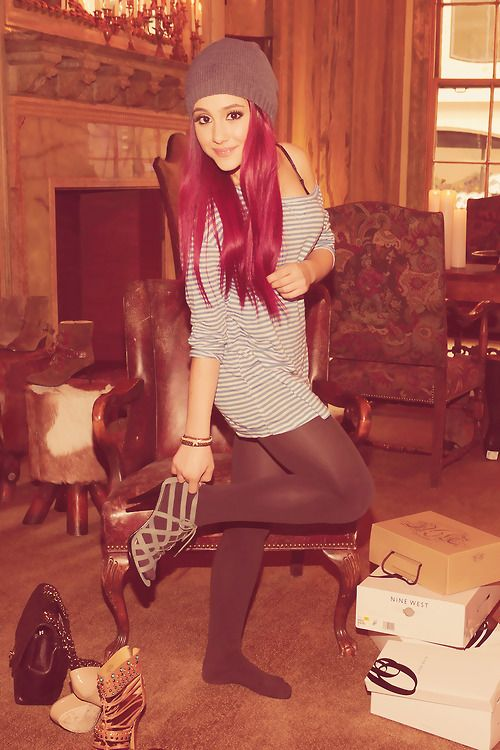 I Think She Is So Cute Love The Red Hair Ariana 3