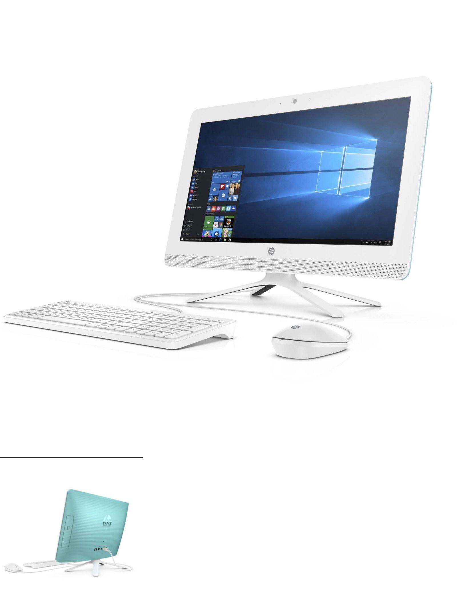 Hp Windows 10 All In One Desktop W 19 5 Screen 4gb Ram 500gb Hdd Windows 10 Desktop Pc Hdd