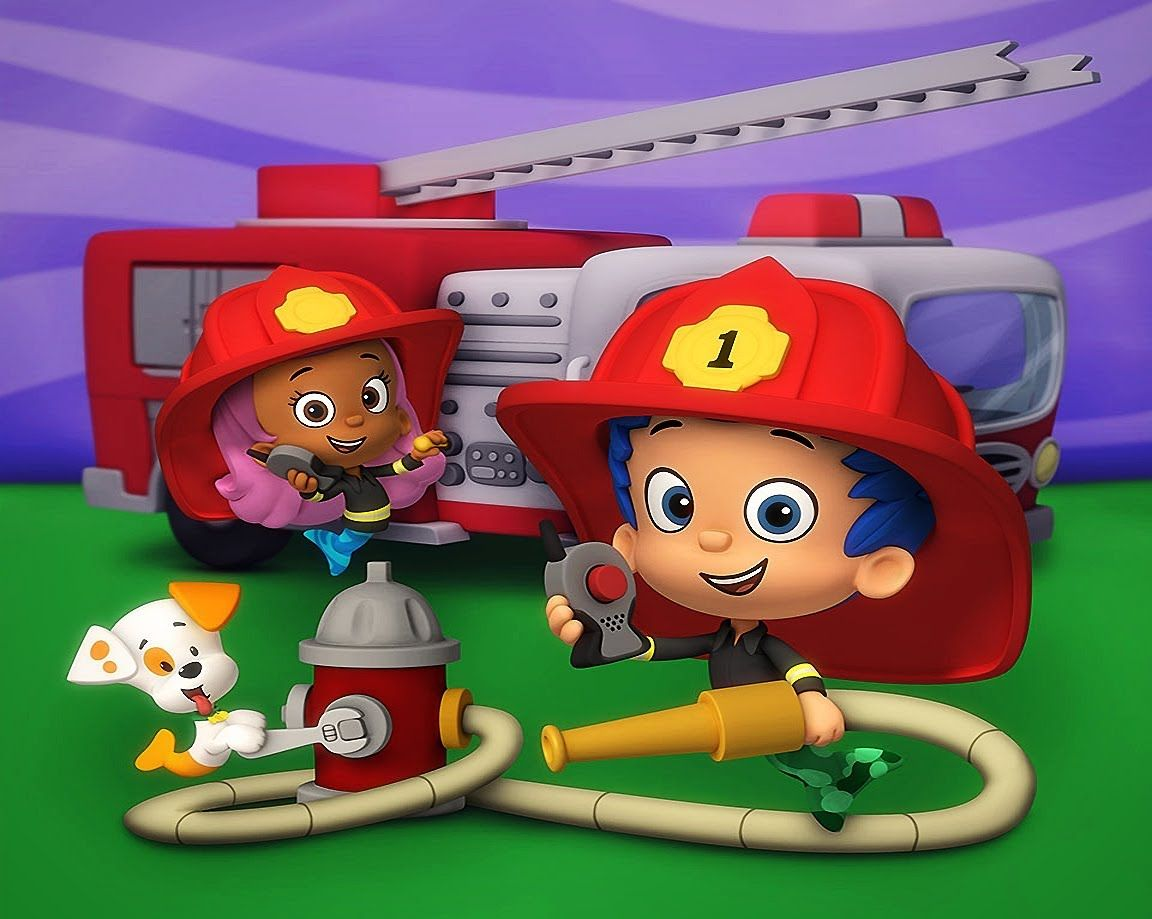 bubble guppies and the firefighter knights bubble guppies videos